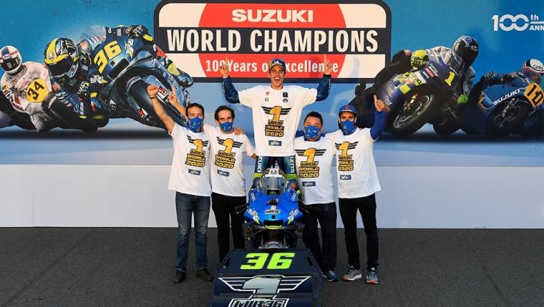 Джоан Мир стана Световен Шампион MotoGP 2020