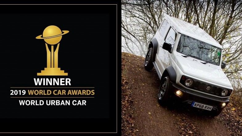 "JIMNY e обявен за ""Световен градски автомобил"" на 2019 от WORLD CAR AWARDS"